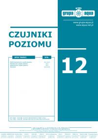 Katalog Czujniki poziomu