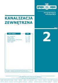 Katalog Kanalizacja zewnętrzna