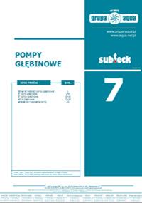 Katalog Pompy głębinowe