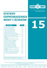 Katalog Systemy odprowadzania wody i ścieków